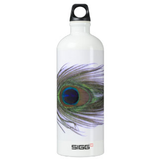 Lilac Peacock Feather SIGG Traveler 1.0L Water Bottle