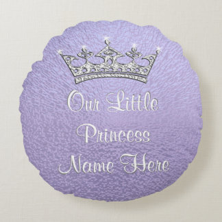 Lilac Personalized Our Little Princess Pillow