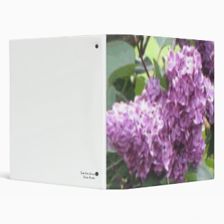 Lilac Photo Album Binder