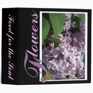 Lilac Photo Albums 3 Ring Binder