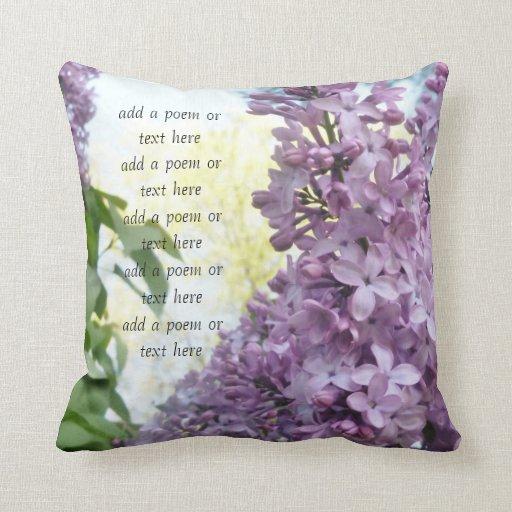 Lilac Pillow