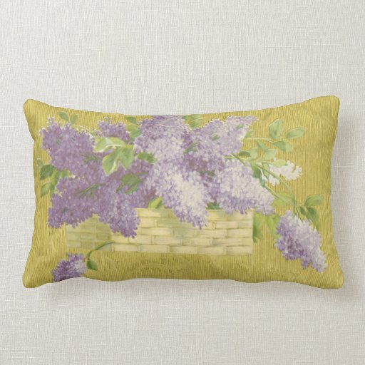 Lilac Pillow - French Country Decor Shabby Chic Zazzle