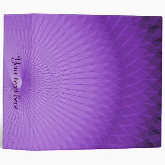 Lilac Plafond 3 Ring Binder