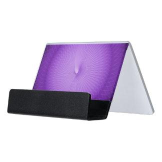 Lilac Plafond Desk Business Card Holder
