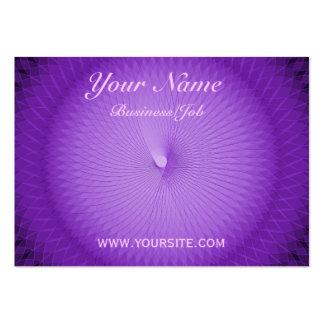 Lilac Plafond Large Business Card