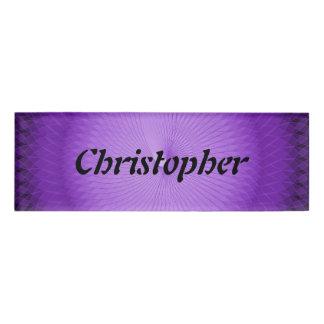 Lilac Plafond Name Tag