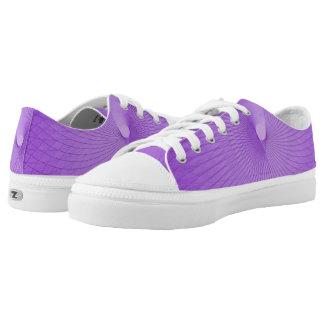 Lilac Plafond Printed Shoes