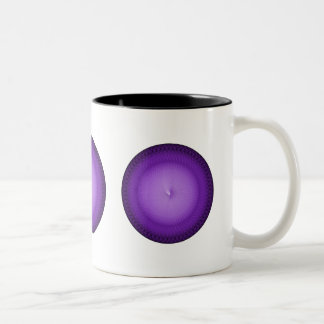 Lilac Plafond Two-Tone Coffee Mug
