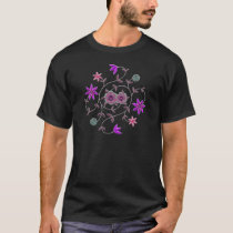 Lilac Plum Spring Flower Garden T-Shirt