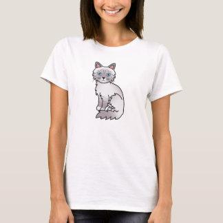 Lilac Point Tabby Birman / Ragdoll Cat T-Shirt