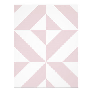 Lilac Purple Geometric Deco Cube Scrapbook Paper