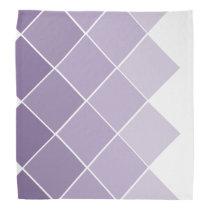 Lilac Purple Ombre Wedding Bandana