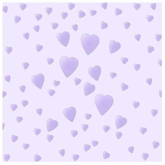 Lilac Purple Pattern of Love Hearts. Cut Outs