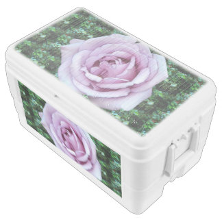 Lilac Rose Chest Cooler