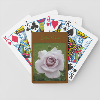 LILAC ROSE Form Factor Bicycle Playing Cards