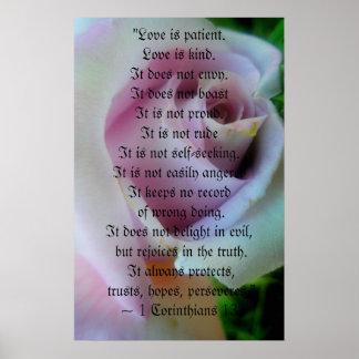 Lilac Rose Wedding Poster