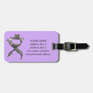 Lilac savonarola chair tags for luggage