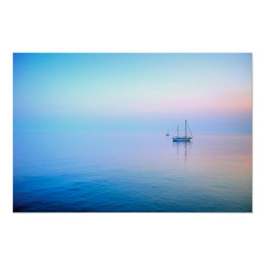 Lilac Sea Poster
