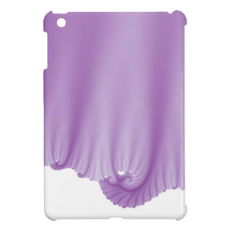 Lilac Silk Drapes iPad Mini Covers
