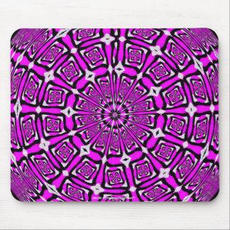 Lilac Snowflake Mousepad