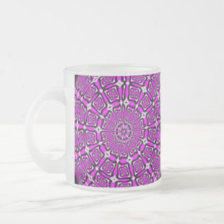 Lilac Snowflake Mug