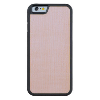 Lilac Solid Color Carved Maple iPhone 6 Bumper Case