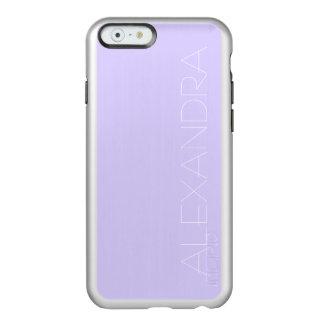 Lilac Solid Color Incipio Feather Shine iPhone 6 Case