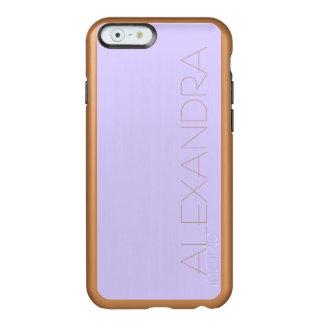Lilac Solid Color Incipio Feather® Shine iPhone 6 Case