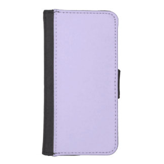 Lilac Solid Color iPhone SE/5/5s Wallet