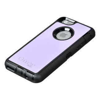 Lilac Solid Color OtterBox Defender iPhone Case