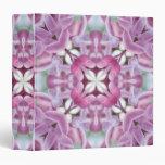 Lilac Spring 3 Ring Binder