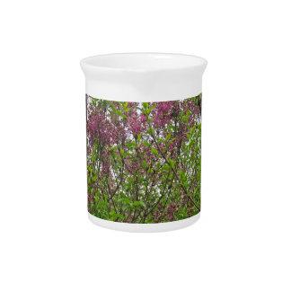 Lilac Spring Beverage Pitcher