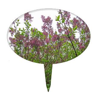 Lilac Spring Cake Topper