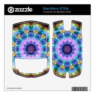 lilac stained glass kaleidoscope BlackBerry 8703e skins