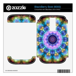 lilac stained glass kaleidoscope BlackBerry bold skins