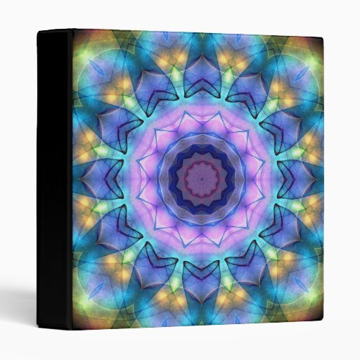 Lilac Stained Glass Window Binder