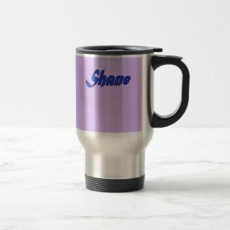 Lilac Stainless Steel Travel mug for Shane