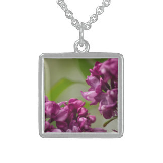 Lilac Sterling Silver Necklace