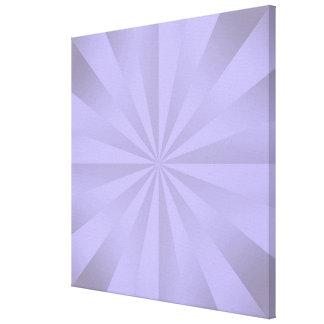 Lilac Sunbeams Canvas Print