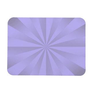 Lilac Sunbeams Rectangular Magnet