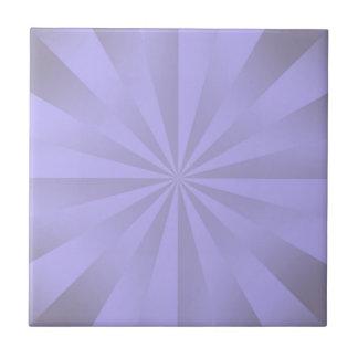 Lilac Sunbeams Small Square Tile
