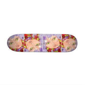 Lilac Surround Beauty / Skateboard mini