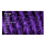 Lilac Swirl Double-Sided Standard Business Cards (Pack Of 100)