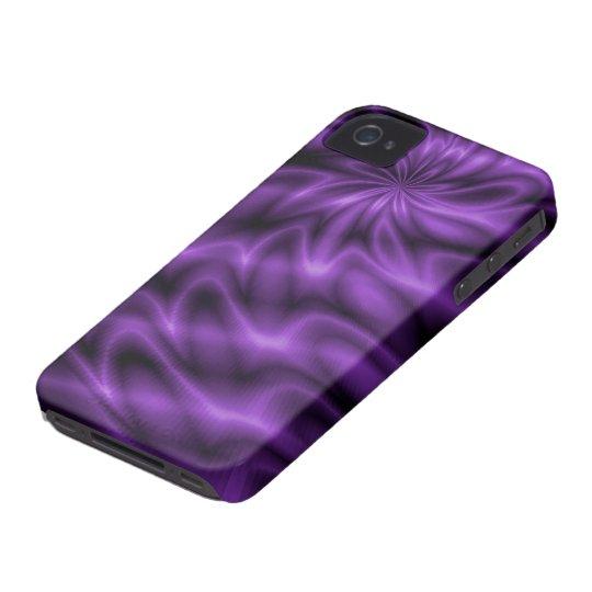 Lilac Swirl Case-Mate iPhone 4 Case