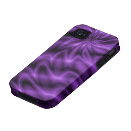 Lilac Swirl Case-Mate iPhone 4 Cases