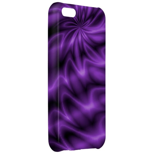 Lilac Swirl iPhone 5C Cover