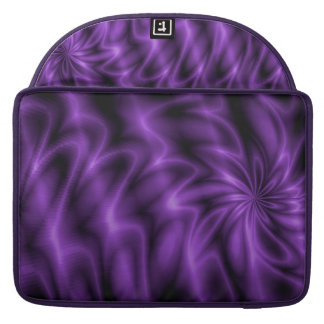 Lilac Swirl Sleeve For MacBook Pro