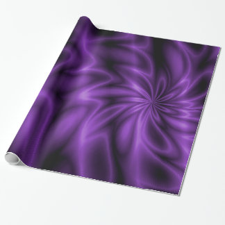 Lilac Swirl Wrapping Paper