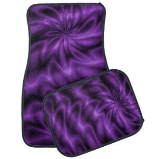 Lilac Swirl Car Mat