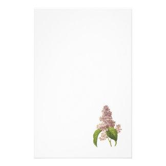 lilac(Syringa sp.) by Redouté Stationery
